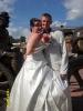 Я с мужем в день нашей свадьбы