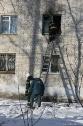 Пожар в общежитии медколледжа