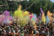 Празднование Дня молодёжи в биробиджанском парке