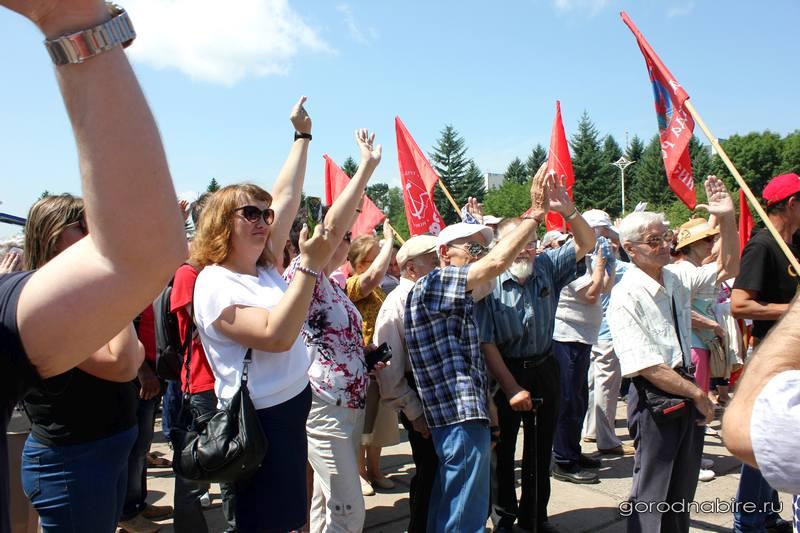 Путин расскажет осмягчении пенсионных изменений
